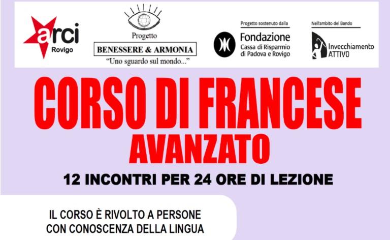 CORSO DI FRANCESE AVANZATO
